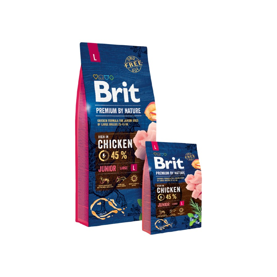 Brit Premium Junior Large Breed 15 kg