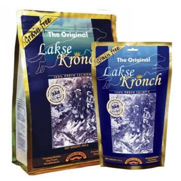 Henne Lakse Kronch Original Hipoallergén Jutalomfalat 600 g