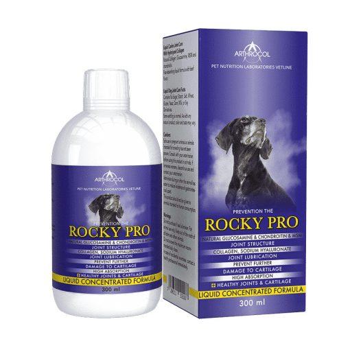 Arthrocol Rocky Pro folyékony ízület- és porcerősítő kutyáknak 300 ml