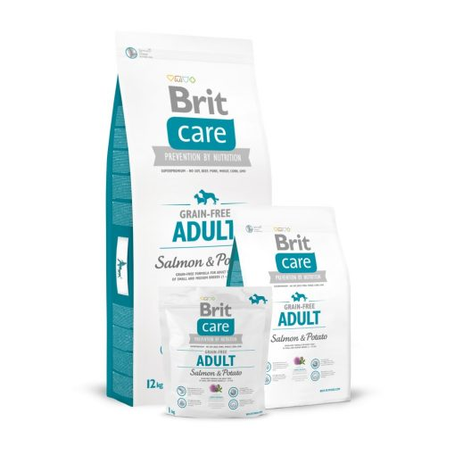 Brit Care Adult All Breed Salmon & Potato Grain-Free 3 kg