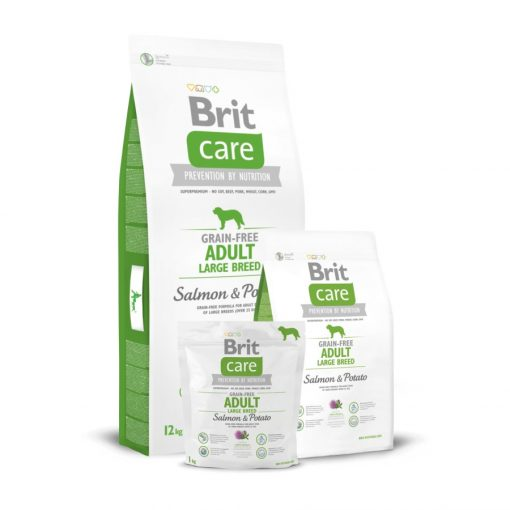 Brit Care Adult Large Breed Salmon & Potato Grain-Free 3 kg