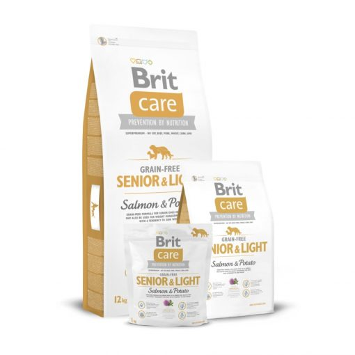 Brit Care Senior & Light Salmon & Potato Grain-Free 12 kg