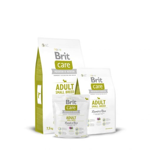 Brit Care Adult Small Breed Lamb & Rice Hipoallergenic 3 kg
