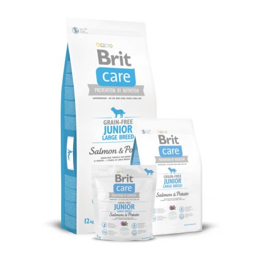 Brit Care Junior Large Breed Salmon & Potato Grain-Free 12 kg