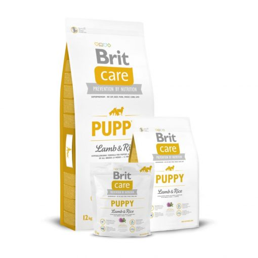 Brit Care Puppy All breed Lamb & Rice Hipoallergenic 3 kg