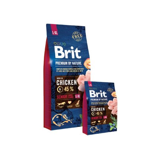 Brit Premium by Nature Senior Large + Extra Large L-XL 15 kg