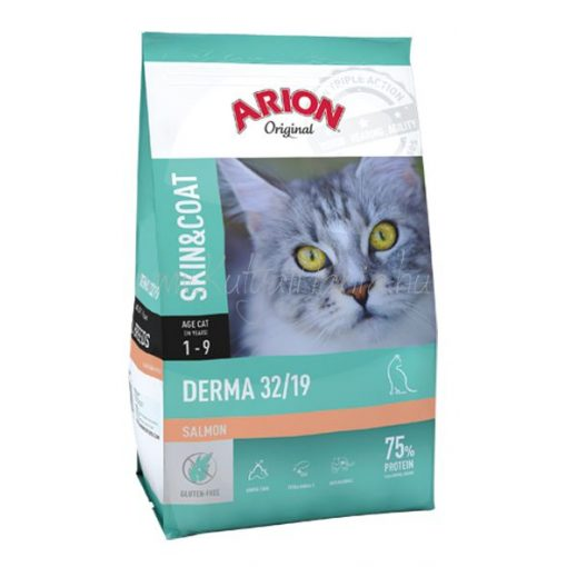 ARION Original Cat Skin & Coat Derma 32/19 7,5 kg