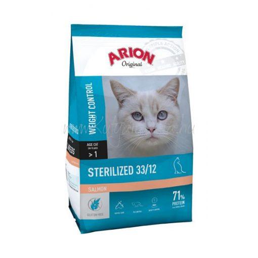 ARION Original Cat STERILIZED 33/12 Salmon 7,5 kg